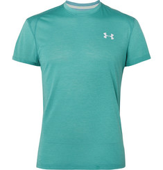 Under Armour - Streaker 2.0 Mesh-Panelled Microthread T-Shirt