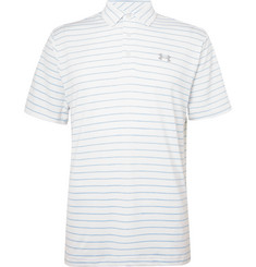 Under Armour - Playoff 2.0 Striped HeatGear Golf Polo Shirt
