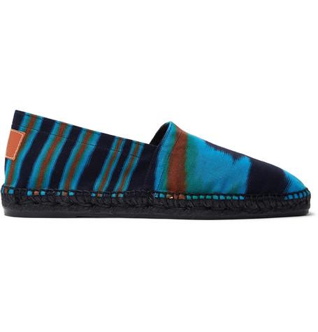 Castañer Shoes + MISSONI PRINTED CANVAS ESPADRILLES