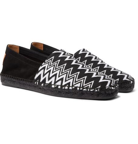 Castañer Shoes + MISSONI CROCHET