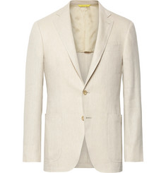 Canali - Beige Kei Slim-Fit Linen and Wool-Blend Suit Jacket