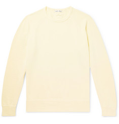 Alex Mill Garment-Dyed Loopback Cotton-Jersey Sweatshirt