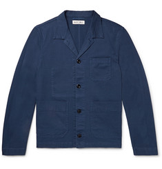 Alex Mill Slim-Fit Camp-Collar Cotton-Blend Twill Shirt Jacket
