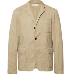 Alex Mill Beige Sack Unstructured Stretch Cotton-Twill Blazer