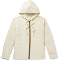 Studio Nicholson Hillman Slub Woven Hooded Jacket