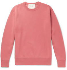 Studio Nicholson Hicks Loopback Cotton and Wool-Blend Jersey Sweatshirt