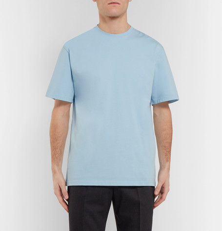 Letra Mercerised Cotton Jersey T Shirt by Studio Nicholson