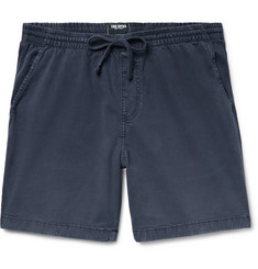 Todd Snyder Weekend Garment-Dyed Stretch Cotton-Blend Twill Drawstring Shorts
