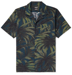 Todd Snyder Slim-Fit Camp-Collar Printed Cotton Shirt