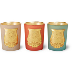Cire Trudon - Odeurs D'Egypte Scented Candle Set, 3 x 100g