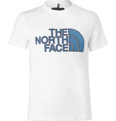 The North Face Black Series City Slim-Fit Appliquéd Cotton-Blend Jersey T-Shirt