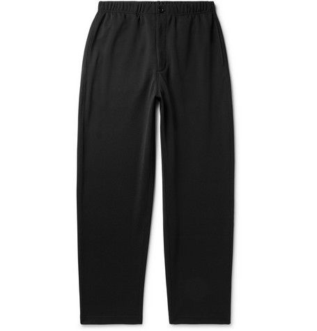 Tapered Tech Jersey Trousers by Engineered Garments