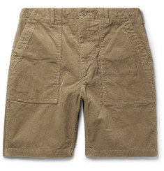 Engineered Garments Cotton-Corduroy Shorts