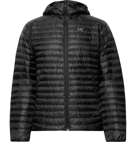 Cerium Sl Packable Quilted Shell Hooded Down Jacket by Arc'teryx