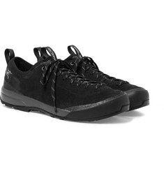 Arc'teryx - Acrux SL Mesh-Panelled Suede and GORE-TEX Hiking Sneakers