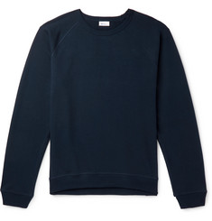 Schiesser Oskar Loopback Cotton-Blend Jersey Sweatshirt