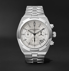 Vacheron Constantin Overseas Automatic Chronograph 42.5mm Stainless Steel Watch, Ref. No. 5500V/110A-B075