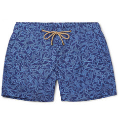 Thorsun Pescado Slim-Fit Mid-Length Printed Shell Swim Shorts