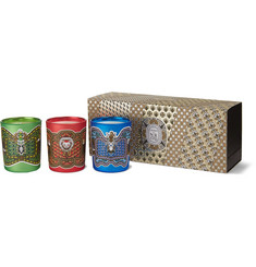 Diptyque Set of Three Scented Candles, 3 x 70g
