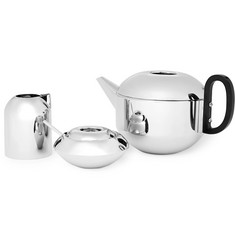 Tom Dixon - Form Stainless Steel Tea Set