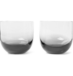 Tom Dixon - Tank Set of Two Dégradé Whisky Glasses
