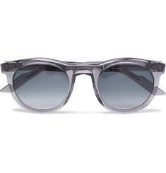 Kirk Originals Clark Round-Frame Acetate Sunglasses