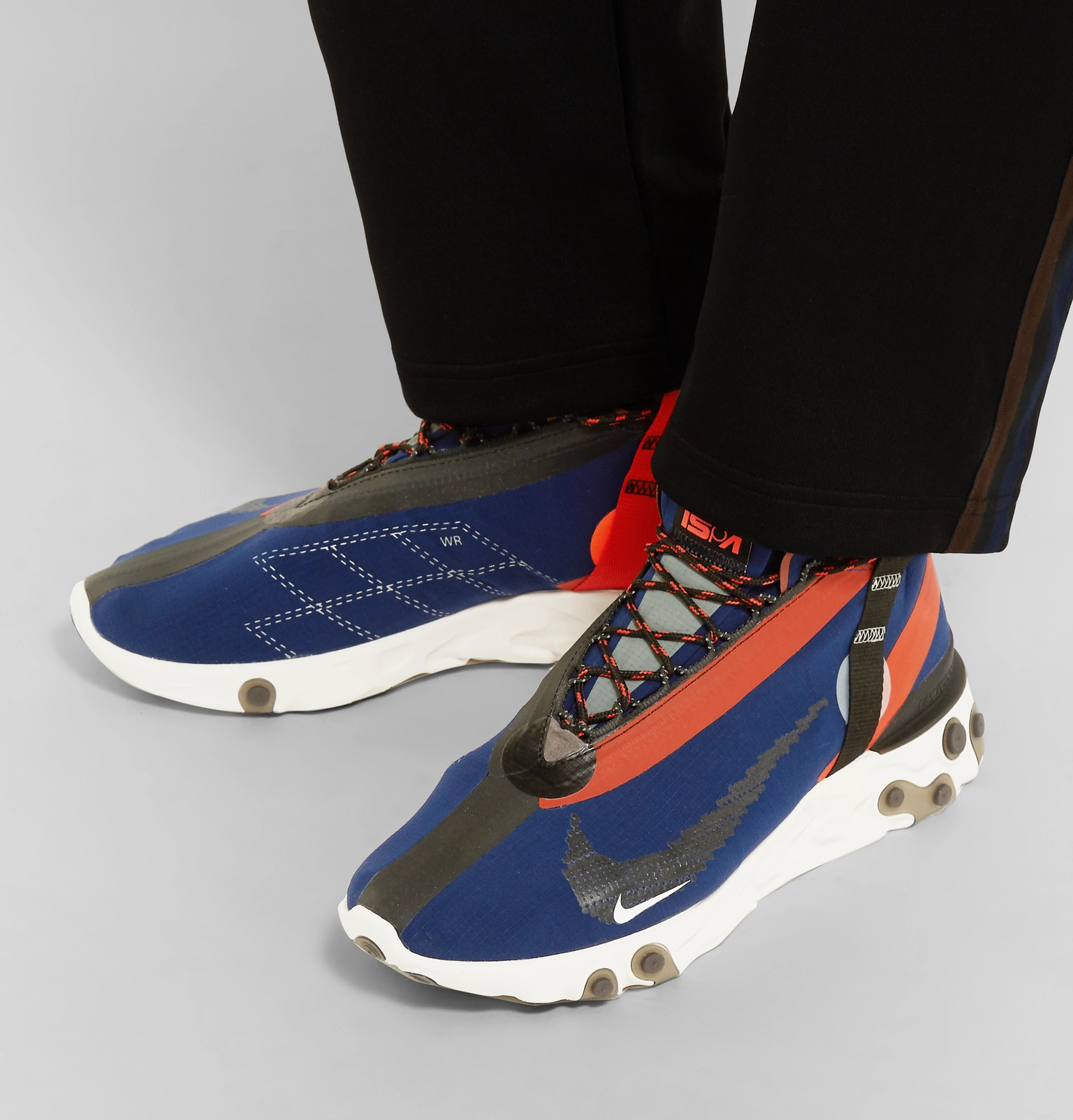bd985f1eb9b Nike - React Runner Mid WR ISPA Ripstop Sneakers