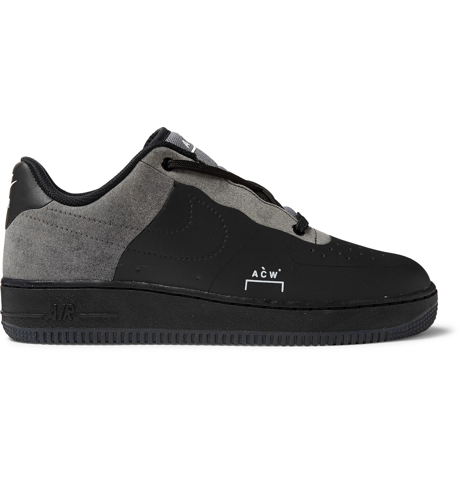 new style dc89c 09fad Nike - + A-COLD-WALL  Air Force 1 Flyleather Sneakers