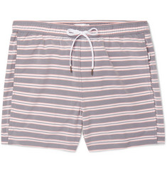 Onia - Charles Mid-Length Striped Swim Shorts