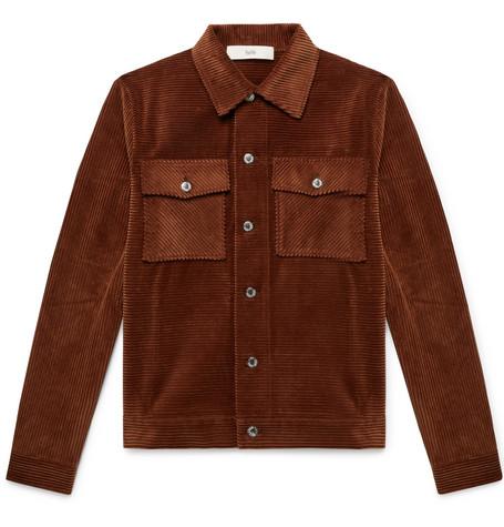 Eric Cotton Corduroy Shirt Jacket by Séfr