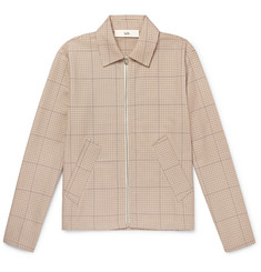 Séfr Puppytooth Cotton Blouson Jacket