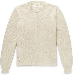 Séfr Ribbed Cotton-Blend Sweater