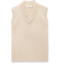 Séfr Ribbed Cotton-Blend Sweater Vest
