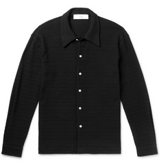 Séfr Ripley Open-Knit Overshirt
