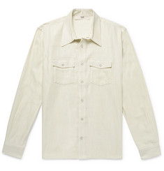 Séfr Adrian Textured Cotton-Blend Overshirt