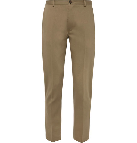 Harvey Tapered Slim Fit Cotton Blend Trousers by Séfr