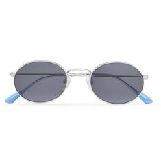 Silver Round Buddies Sun Frame Aaliyah Tone Sunglasses Rq1xOUc