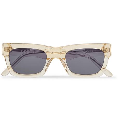 Greta Square Frame Acetate Sunglasses by Sun Buddies