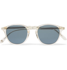 Garrett Leight California Optical Hampton 46 Round-Frame Acetate Polarised Sunglasses