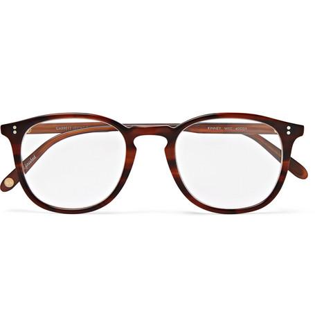 1461435482 Garrett Leight California OpticalKinney 49 Square-Frame Tortoiseshell  Acetate Optical Glasses