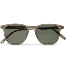 Garrett Leight California Optical Brooks 47 D-Frame Matte Acetate Sunglasses