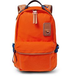 03cf0e74e1a5 eye/LOEWE/nature - Leather-Trimmed Canvas Backpack