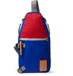 eye/LOEWE/nature Sling Colour-Block Canvas Backpack