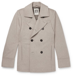 Connolly Slim-Fit Wool Peacoat