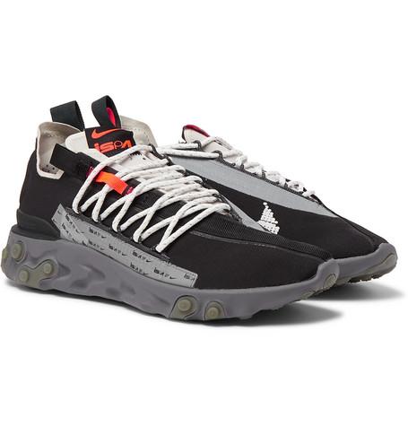 new concept 9c4ca 1761b NikeReact Runner WR ISPA Ripstop Sneakers