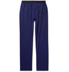 Calvin Klein Underwear Striped Cotton-Poplin Pyjama Trousers