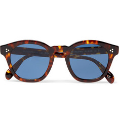 Oliver Peoples Boudreau L.A D-Frame Tortoiseshell Acetate Sunglasses