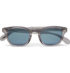 Oliver Peoples Sheldrake D-Frame Acetate Sunglasses