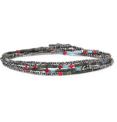 M.Cohen Sterling Silver Beaded Bracelet