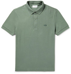Lacoste Cotton-Blend Piqué Polo Shirt